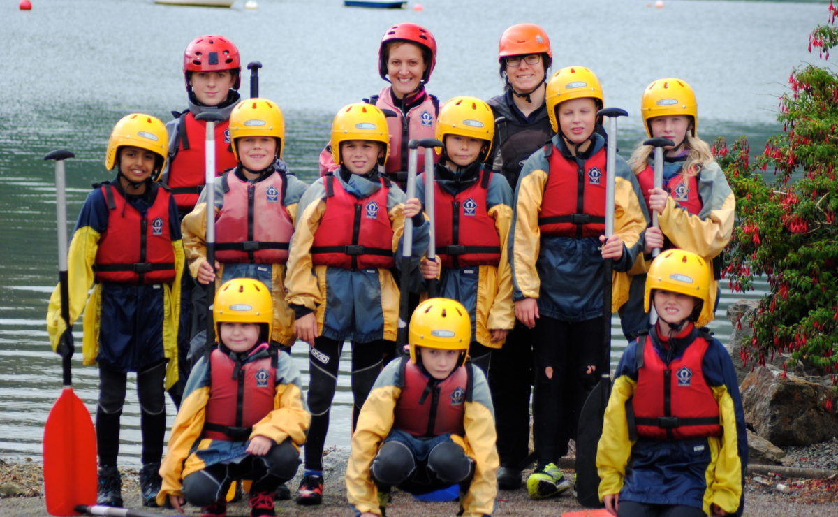 Water activities at Lochgoilhead Centre